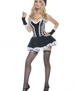 A140 Costum tematic Hostess - Menajera - Haine > Haine Femei > Costume Tematice > Menajera