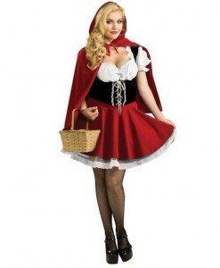 A221 Costum Halloween Scufita Rosie - Basme si Legende - Haine > Haine Femei > Costume Tematice > Basme si Legende