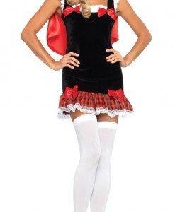 A226 Costum carnaval Scufita Rosie - Basme si Legende - Haine > Haine Femei > Costume Tematice > Basme si Legende