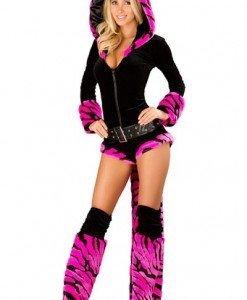 A249-55 Costum tematic tigru - Animalute - Haine > Haine Femei > Costume Tematice > Animalute