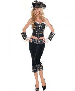 A254 Costum tematic Pirat - Pirat - Haine > Haine Femei > Costume Tematice > Pirat
