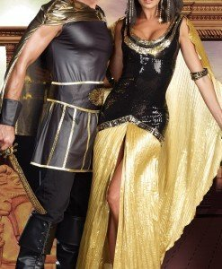B176 Costum tematic egiptean Cleopatra - Basme si Legende - Haine > Haine Femei > Costume Tematice > Basme si Legende