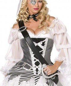 B226 Costum carnaval pirat - Pirat - Haine > Haine Femei > Costume Tematice > Pirat