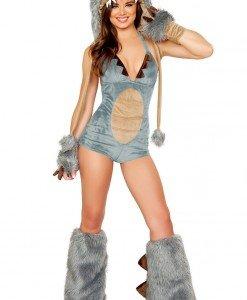 B312 Costum Halloween dinozaur sexi - Animalute - Haine > Haine Femei > Costume Tematice > Animalute