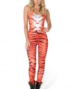 B330 Salopeta lunga cu model tigru - Altele - Haine > Haine Femei > Costume Tematice > Altele