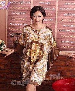 B357-8 Lenjerie eleganta cu maneci largi tip kimono - Halate - Haine > Haine Femei > Lenjerie intima > Halate