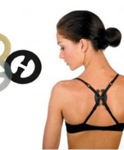 BRA60 Set clips pentru bretele - Accesorii sani - Haine > Haine Femei > Accesorii > Accesorii sani