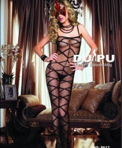 BS16 Bodystocking Sexi Dama - Bodystockings