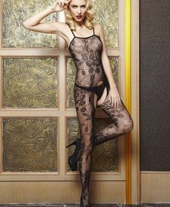 BS42 Lenjerie Catsuit Dama - Bodystockings