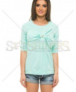 Bluza Artista Middle Ribbon Mint - Bluze -