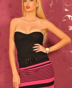 BsK150 Fusta dama in Dungi - Bershka - Haine > Brands > Bershka