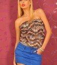 BsK2 Fusta Jeans Dama - Bershka - Haine > Brands > Bershka