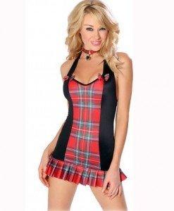 C143 Costum tematic de scolarita - Scolarita - Haine > Haine Femei > Costume Tematice > Scolarita