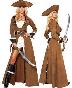 C148 Costum tematic pirat - Pirat - Haine > Haine Femei > Costume Tematice > Pirat
