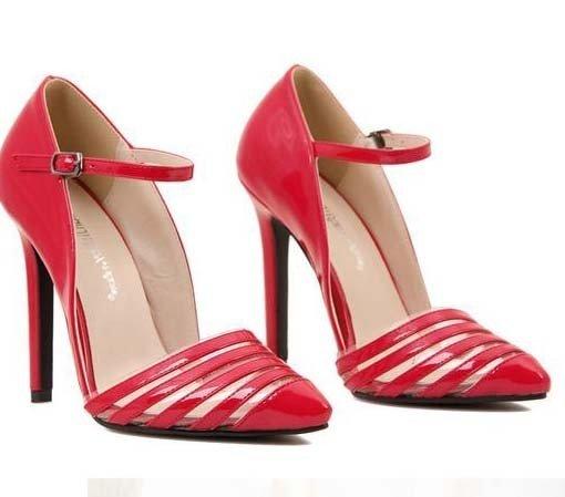 CH2266-3 Pantofi eleganti tip stiletto cu catarama – Pantofi Dama – Incaltaminte > Incaltaminte Femei > Pantofi Dama