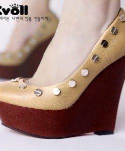 CH711 Incaltaminte - Pantofi cu Platforma - Pantofi cu platforma - Incaltaminte > Incaltaminte Femei > Pantofi cu platforma