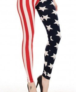 CL240 Colanti dama cu model USA - Colanti - Haine > Haine Femei > Pantaloni Dama > Colanti