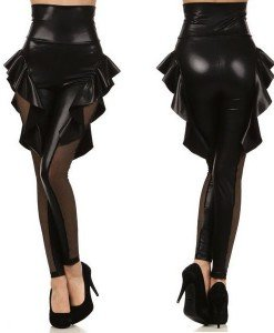 CL270 Colanti sexi din vinil - Colanti - Haine > Haine Femei > Costume latex si PVC > Colanti