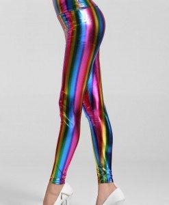 CL340 Colanti multicolori din vinil - Colanti - Haine > Haine Femei > Costume latex si PVC > Colanti