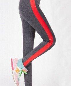 CL388-181 Colanti tip Leggings cu dungi laterale - Colanti - Haine > Haine Femei > Costume latex si PVC > Colanti
