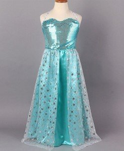 CLD19-24 Costum de printesa Elsa Frozen - Costume tematice - Haine > Haine Copii > Costume tematice