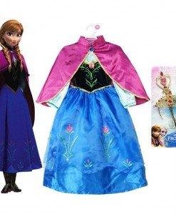 CLD20 Costum copii desene Frozem - Anna Frozen - Costume tematice - Haine > Haine Copii > Costume tematice