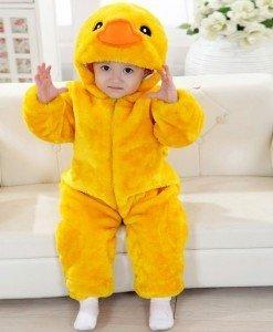 CLD40-9A Salopeta ratusca pentru copii cu material triplu polar - Costume tematice - Haine > Haine Copii > Costume tematice