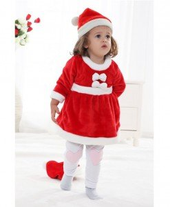 CLD45 Costum de craciunita pentru copii - Costume tematice - Haine > Haine Copii > Costume tematice