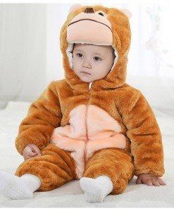 CLD52-8 Costum tematic leu pentru copii din material polar - Costume tematice - Haine > Haine Copii > Costume tematice