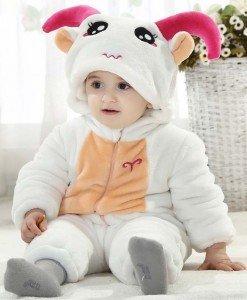CLD57 Salopeta zodia berbec pentru copii - Costume tematice - Haine > Haine Copii > Costume tematice