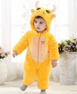 CLD58-9 Salopeta zodia taur pentru copii - Costume tematice - Haine > Haine Copii > Costume tematice