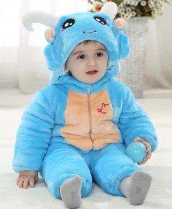CLD59-4 Salopeta zodia leu pentru copii - Costume tematice - Haine > Haine Copii > Costume tematice