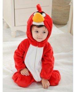 CLD65-3A Salopeta Angry Birds pentru copii - Costume tematice - Haine > Haine Copii > Costume tematice