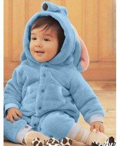 CLD69-4 Salopeta elefant albastru pentru copii - Costume tematice - Haine > Haine Copii > Costume tematice