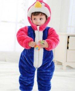 CLD72 Salopeta Angry Birds pentru copii - Costume tematice - Haine > Haine Copii > Costume tematice