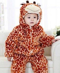 CLD75-99 Salopeta girafa pentru copii - Costume tematice - Haine > Haine Copii > Costume tematice
