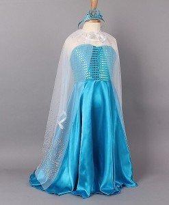 CLD87-4 Costum tematic printesa Elsa (Frozen) - Basme si Legende - Haine > Haine Femei > Costume Tematice > Basme si Legende