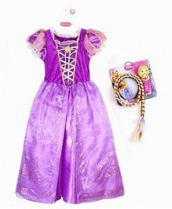CLD89-10 Costum tematic printesa Rapunzel - Basme si Legende - Haine > Haine Femei > Costume Tematice > Basme si Legende