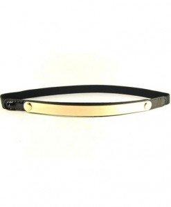 CU31 Curea elastica accesorizata cu metal auriu - Curele dama - Haine > Haine Femei > Accesorii > Curele dama