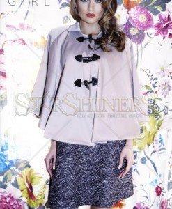 Capa PrettyGirl Stylishness Brown - Sacouri - Jachete -