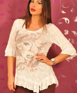 CrM15 Bluza cu Paiete - Cream - Haine > Brands > Cream