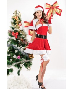 Craciunita Velvet Miss Santa - Craciunite - 0