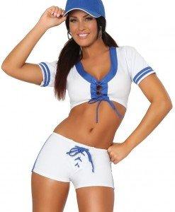 D318 Costum Halloween sport baseball - Sport - Racing - Haine > Haine Femei > Costume Tematice > Sport - Racing