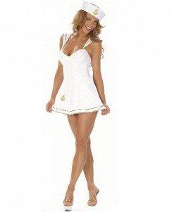 D325-2 Costum Halloween asistenta sexy - Asistenta Medicala - Haine > Haine Femei > Costume Tematice > Asistenta Medicala