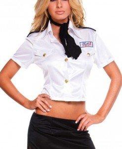 E137 Costum Halloween stewardesa - pilot - Chelnerita - Haine > Haine Femei > Costume Tematice > Chelnerita