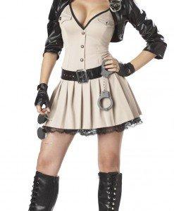 E316 Costum Halloween politista sexi - Politista - Gangster - Haine > Haine Femei > Costume Tematice > Politista - Gangster