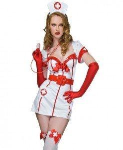 E51 Costum tematic asistenta sexy - Asistenta Medicala - Haine > Haine Femei > Costume Tematice > Asistenta Medicala