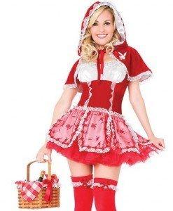 F141 Costum Tematic Scufita Rosie - Basme si Legende - Haine > Haine Femei > Costume Tematice > Basme si Legende