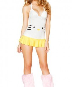 F386 Costum tematic Hello Kitty - Altele - Haine > Haine Femei > Costume Tematice > Altele