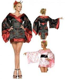 F54 Costum oriental asiatic - Halate - Haine > Haine Femei > Lenjerie intima > Halate